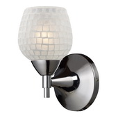 Polished Chrome Wall Sconce - MEK3101