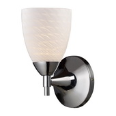 Polished Chrome Wall Sconce - MEK3102