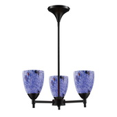 Dark Rust Chandelier - MEK3282