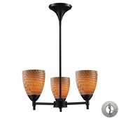 Dark Rust Chandelier - MEK3285