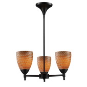 Dark Rust Chandelier - MEK3284