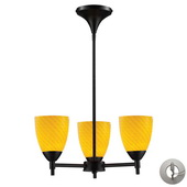 Dark Rust Chandelier - MEK3287