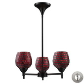 Dark Rust Chandelier - MEK3289