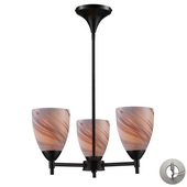 Dark Rust Chandelier - MEK3291
