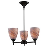 Dark Rust Chandelier - MEK3290
