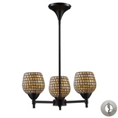 Dark Rust Chandelier - MEK3299