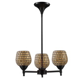 Dark Rust Chandelier - MEK3298