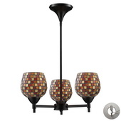 Dark Rust Chandelier - MEK3303