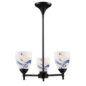 Dark Rust Chandelier - MEK3304