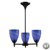 Dark Rust Chandelier - MEK3309