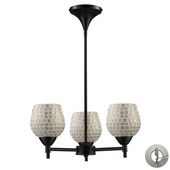 Dark Rust Chandelier - MEK3311