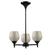 Dark Rust Chandelier - MEK3310