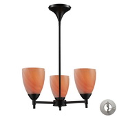 Dark Rust Chandelier - MEK3315