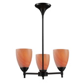 Dark Rust Chandelier - MEK3314