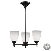 Dark Rust Chandelier - MEK3317