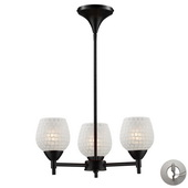 Dark Rust Chandelier - MEK3319