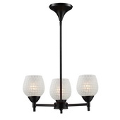 Dark Rust Chandelier - MEK3318