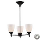 Dark Rust Chandelier - MEK3321