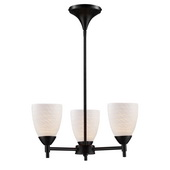 Dark Rust Chandelier - MEK3320