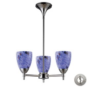 Polished Chrome Chandelier - MEK3327