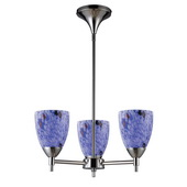 Polished Chrome Chandelier - MEK3326