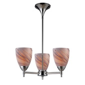 Polished Chrome Chandelier - MEK3334