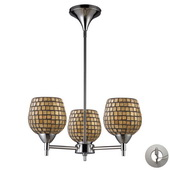 Polished Chrome Chandelier - MEK3343
