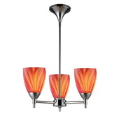 Polished Chrome Chandelier - MEK3344