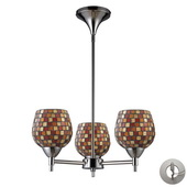 Polished Chrome Chandelier - MEK3347