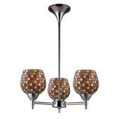 Polished Chrome Chandelier - MEK3346