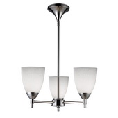 Polished Chrome Chandelier - MEK3360