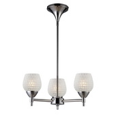 Polished Chrome Chandelier - MEK3362