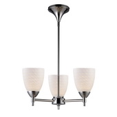 Polished Chrome Chandelier - MEK3364