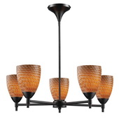 Dark Rust Chandelier - MEK3370