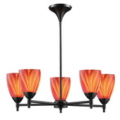 Dark Rust Chandelier - MEK3378
