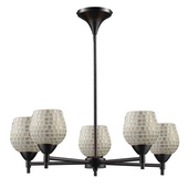 Dark Rust Chandelier - MEK3383