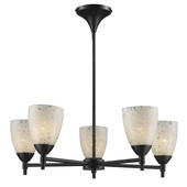 Dark Rust Chandelier - MEK3384