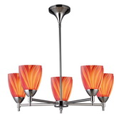 Polished Chrome Chandelier - MEK3400