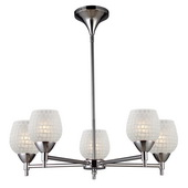 Polished Chrome Chandelier - MEK3409