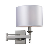 Polished Nickel Wall Sconce - MEK3415