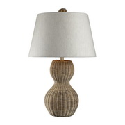Light Rattan Table Lamp - MEK2185