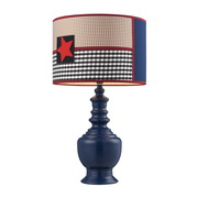 Dark Blue Table Lamp - MEK2196
