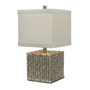 Silver Leaf Table Lamp - MEK2204