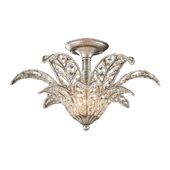 Sunset Silver Semi Flush - MEK3797