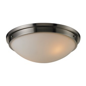 Brushed Nickel Flushmount - MEK3840