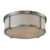 Brushed Nickel Flushmount - MEK3853