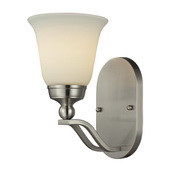 Brushed Nickel Wall Sconce - MEK3865