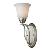 Brushed Nickel Wall Sconce - MEK3874