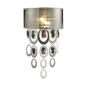 Silver Leaf Wall Sconce - MEK4036