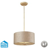 Washed Pine Semi Flush - MEK4090